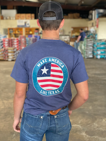 America Like Texas Men's Graphic Tee