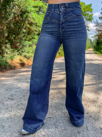 Rocky Road Flare Jeans