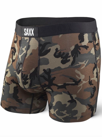 SAXX Vibe Boxer Brief Slim Fit- Woodland Camo