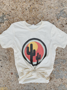 Cactus Sunset Kid's Graphic Tee