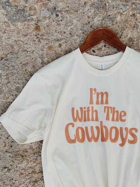 I'm With The Cowboys Graphic Tee