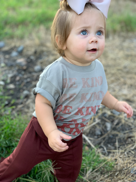 Be Kind Kid's Graphic Tee