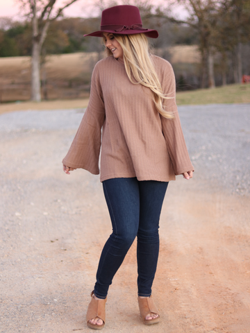 November Bell Sleeve Sweater