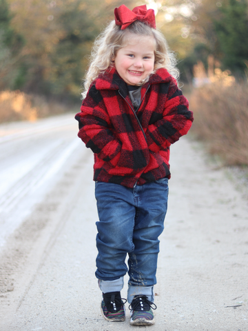 Buffalo Plaid Kids Jacket