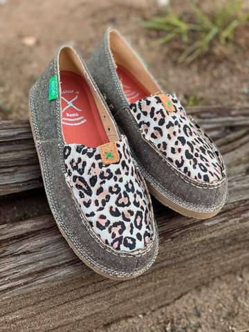 Twisted X Slip-On- Leopard