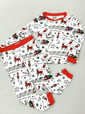 The Night Before Christmas PJ Set