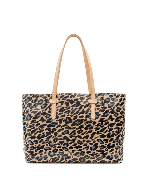 East/West Tote - Blue Jag
