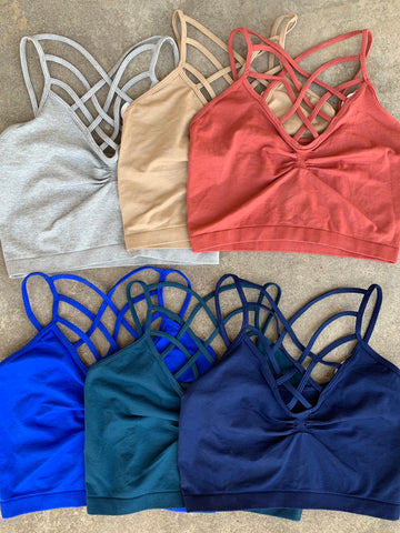 Criss Cross Bralettes