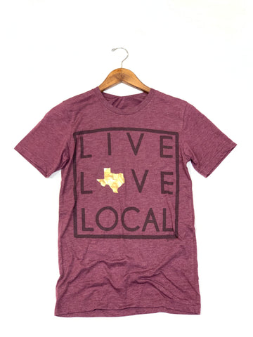 Live Love Local Graphic Tee
