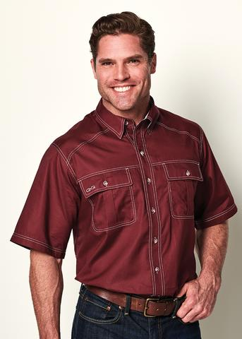 GameGuard Classic Cotton Shirt - Maroon