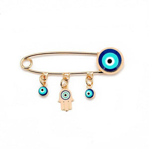 Evil Eye Brooch Pin - Malojo | Evil Eye Store