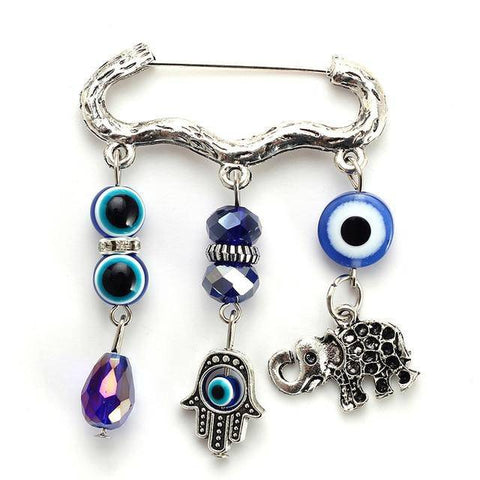 Animal Brooch Colorful Beads Evil Eye - Malojo | Evil Eye Store