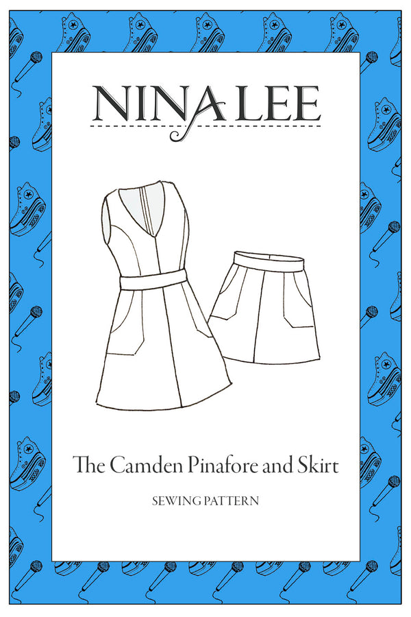Nina Lee Camden Pinafore and Skirt Sewing Pattern