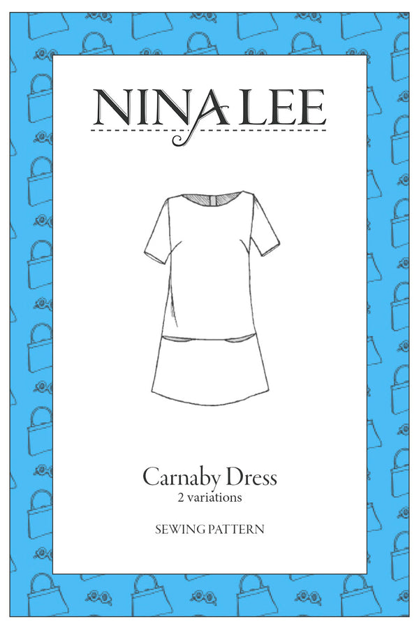 Nina Lee Carnaby Dress Sewing Pattern