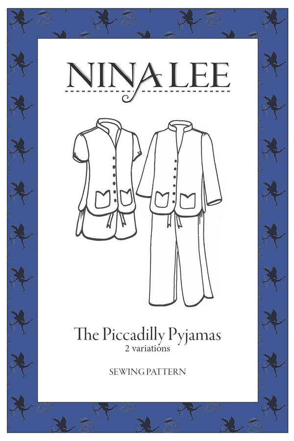 Nina Lee Piccadilly Pyjamas Sewing Pattern