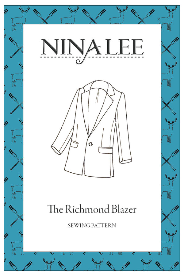 Nina Lee Richmond Blazer Sewing Pattern