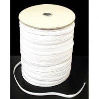 10mm White Elastic