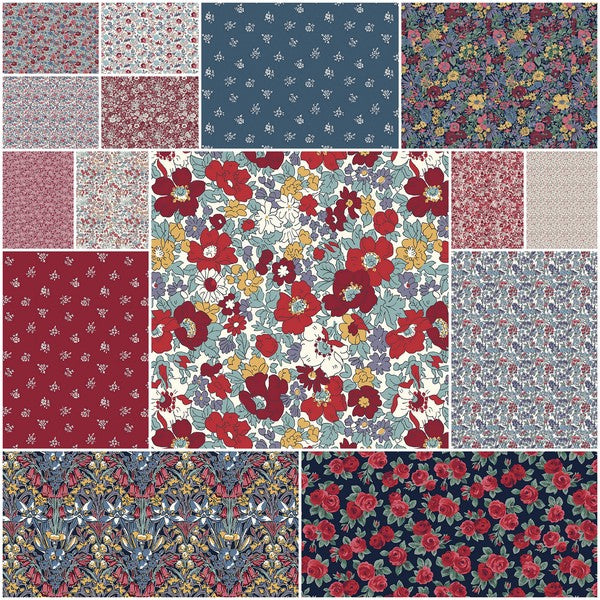 Liberty Winter Flower Show - Fat Quarter Bundle