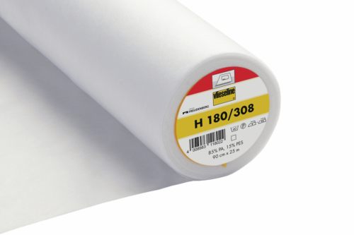 White Easy Fuse Ultra Soft Light Interfacing - H180 Vilene
