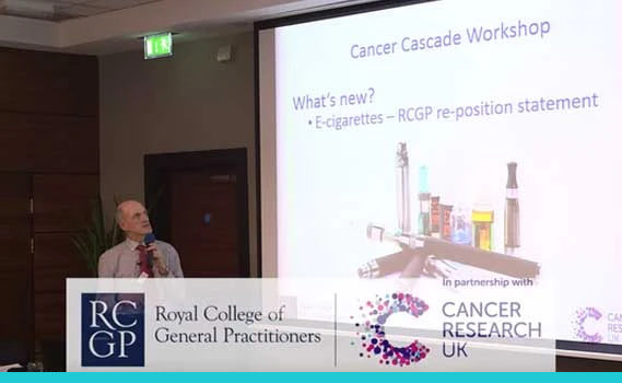 Cancer Expert says GPs need to explain benefits of vaping