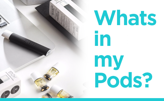 E-Liquids - What's In My Pods?-PodVapes™ UK