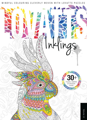 Lovatts Inklings Vol 12 - Clever colour-ins