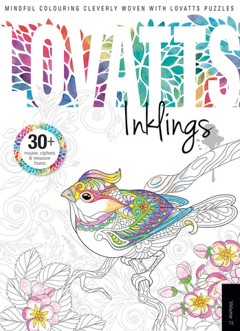 Lovatts Inklings Vol 17 - Clever colour-ins