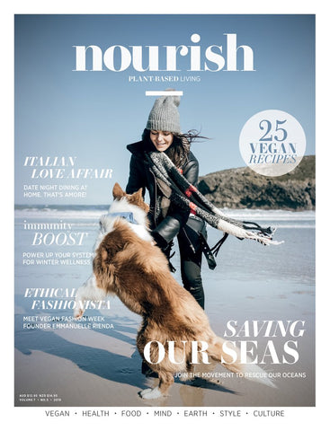 Nourish Magazine Vol 7, No.5 - A sustainable life