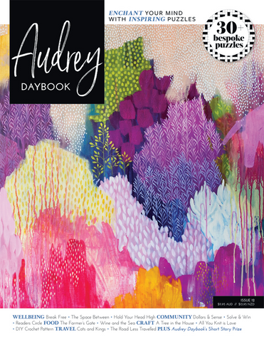 Audrey Daybook Issue 12 - Hold Your Head High