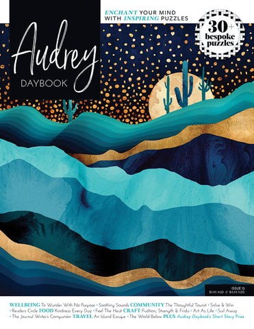 Audrey Puzzle Daybook Issue 13 - Kindness Every Day