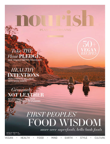 Nourish Magazine Vol 8, No.1 - Healthy Intentions