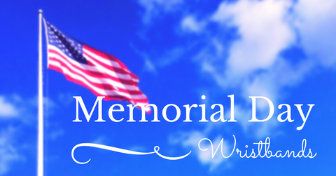 memorial day with wristbands