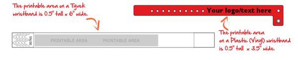Custom Wristband Dimensions