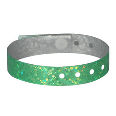 Green Holographic Wristbands