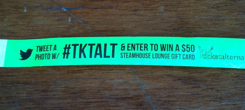 Oysterfest TKTALT Photo Contest Wristband