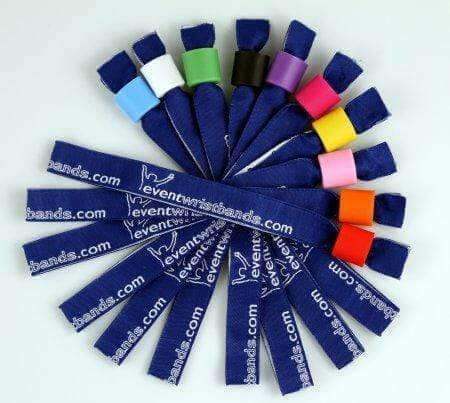 Event Wristbands Cloth Wristbands Full Color Custom Printed Cloth Wristbands - Dye Sublimation