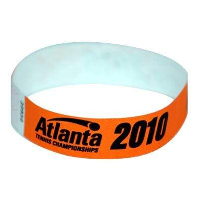 Event Wristbands Tyvek Stock - Solid 500 Custom Tab-Free Tyvek® Event Wristbands