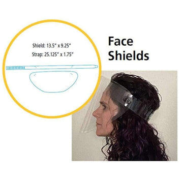 Personal Protective Face Shield - 10 Pack