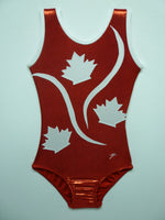 Canada 2 Red Mystique Tank Bodysuit- Sale