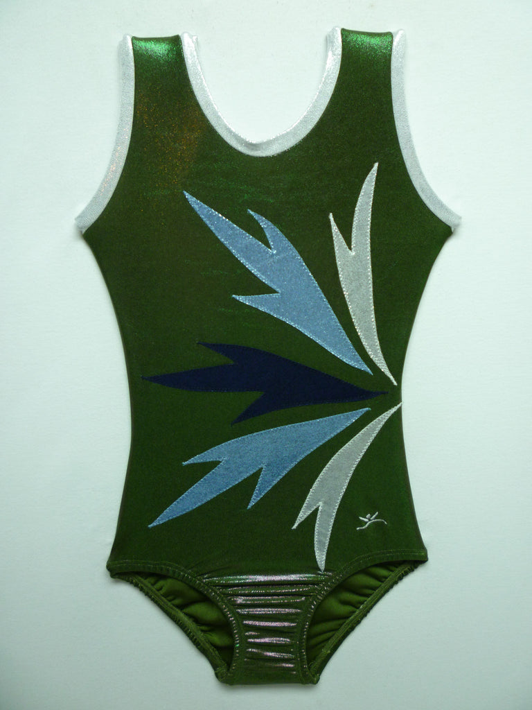 Frost 5 Spray Olive Mystique Tank Bodysuit