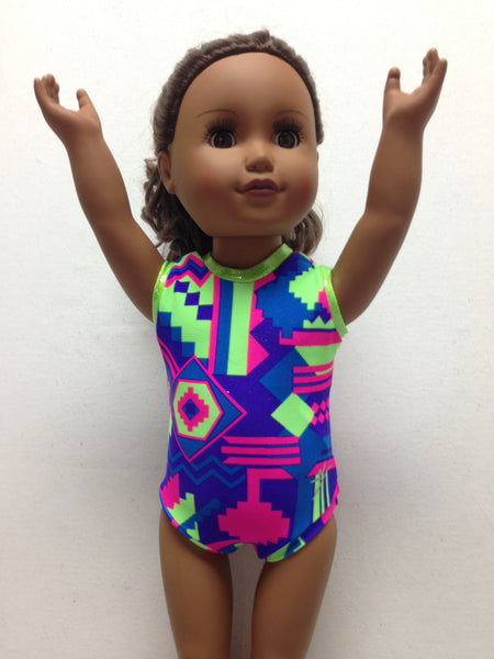Doll Bodysuit - Aztec