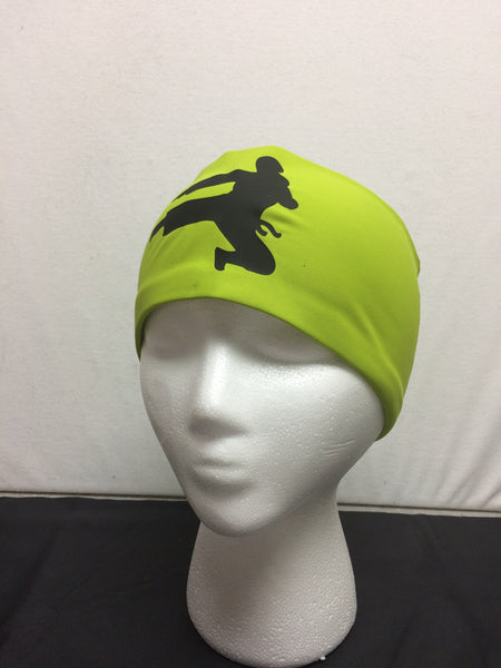Headband-Ski, Bike, Run- Ninja Apple Green