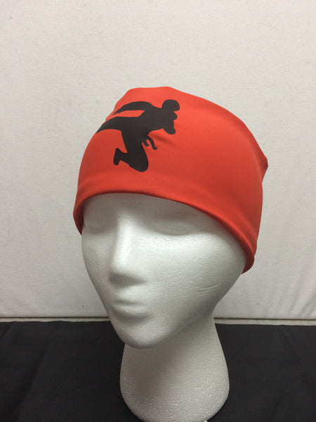 Headband- Ski, Bike, Run- Ninja Orange-Red