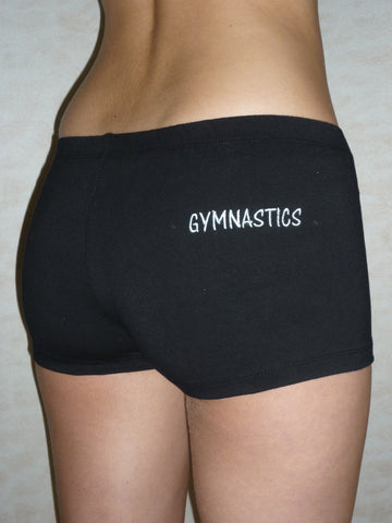 Shorts w/ Gymnastics embroidery