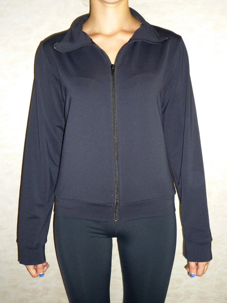 1 Yoga Zip-Up Jacket in Black Shea