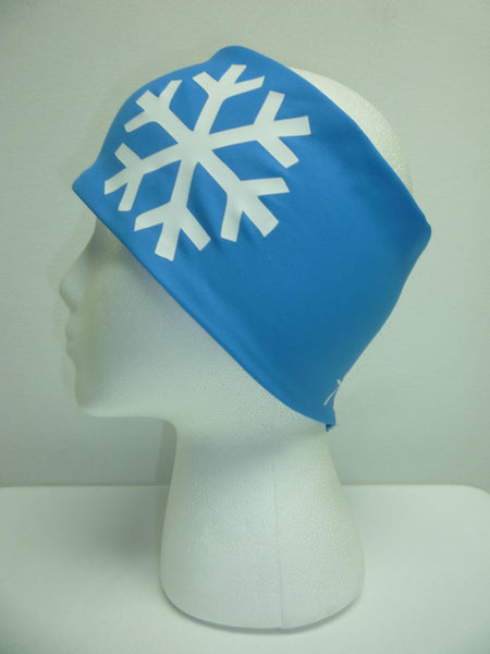 Headband - Snowflake Light Blue