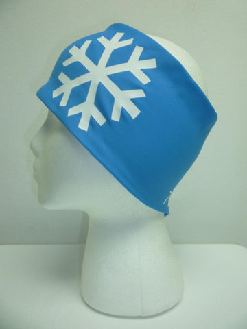 Snowflake Light Blue Headband