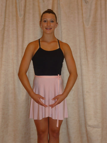 Dance Wrap Skirt Pink