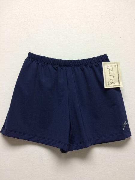 Men's/Boys Gymnastics Shorts- NAVY