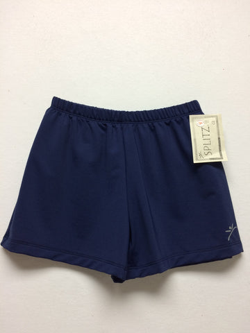 Boy's/ Men's Gymnastics Shorts- NAVY
